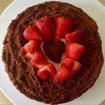 Cheesecake fragole 🍓 e cioccolato 🍫 senza cottura