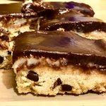 Cookie bars 🍪 con crema al cocco 🥥 e ganache alla Nutella 🧉