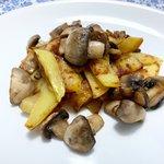 Funghi e patate 😉