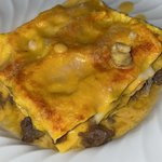 Lasagne di zucca, salsiccia e provola
