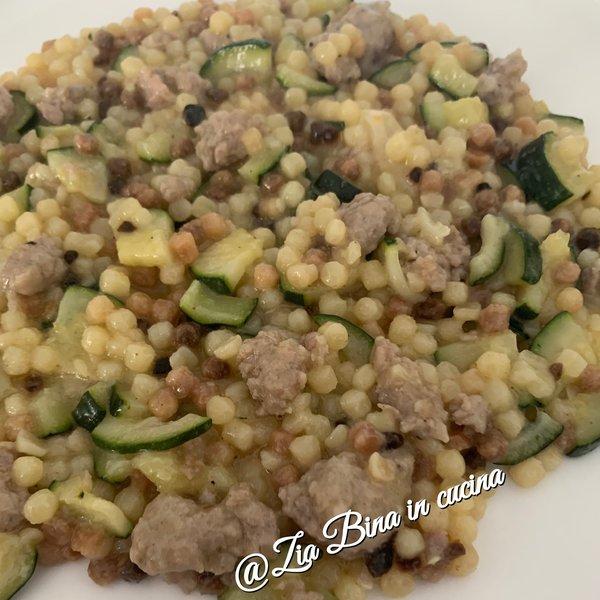 Fregola Con Salsiccia E Zucchine Al Ta Cucina