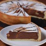 Crostata pere e cioccolato con ricotta
