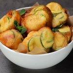 Nuvolette di zucchine al pecorino