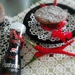 Muffins al cacao e peperoncino
