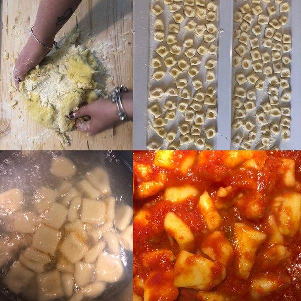 Ricetta Gnocchi Di Patate Cucina Italiana.Gnocchi Di Patate Fatti In Casa Al Ta Cucina