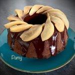 Bund Cake pere e cioccolato
