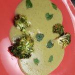 Vellutata di piselli e broccoli