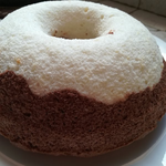 Angel cake bicolor