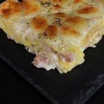 Lasagne cacio, pepe e salsiccia