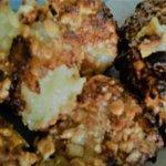 Crocchette di patate con granella di noccioline