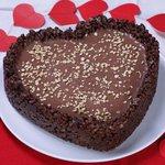 Crostata ai due cioccolati per San Valentino