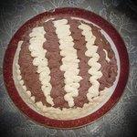 Torta chantilly bicolore