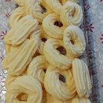 Biscottini senza glutine con frolla montata all'arancia