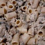 Mezze Maniche con funghi