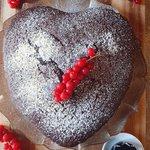 Torta cioccolato fondente e vino rosso!
