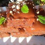 Brownies cioccolato e mandorle