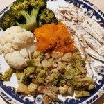 Spigola con verdure miste 😋
