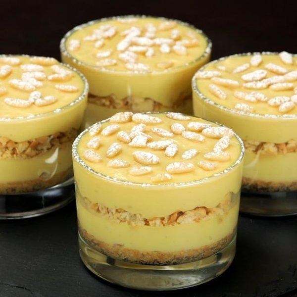 Ricetta Della Nonna Crema Pasticcera.Bicchierini Furbi Della Nonna Al Ta Cucina