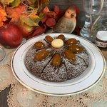Torta di Padella al Cioccolato con Crema alla Nocciola e Kumquat Canditi