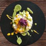 Risotto al pecorino con verdure autunnali