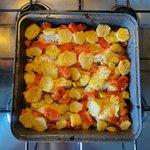 Filetti di gallinella in crosta di patate