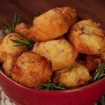 Nuvolette di patate e pancetta
