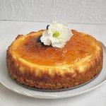 NY Cheesecake gluten free con confettura di albicocca