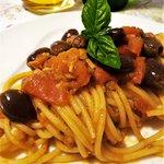 Spaghetti alla Banfi ....ovvero alla Porca Puttenesca!
