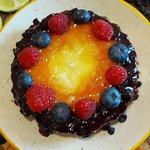 Key Lime Cheesecake, guarnita a colori!