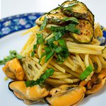 Spaghettone alla Nerano con le Cozze