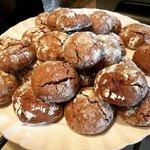 Biscotti morbidì cacao e pezzi di cioccolato