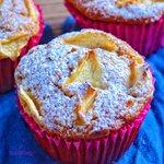 Muffin integrali mele e cannella senza burro