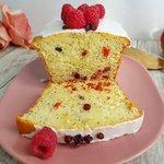 Plumcake ai frutti rossi senza glutine