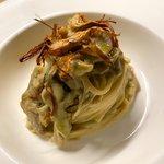 Spaghetti con carciofi in tre consistenze 🌿