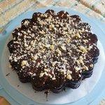 Torta al cacao (senza uova) con ganache al cioccolato