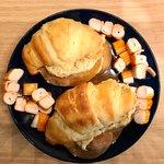 Croissant 🥐 sfogliati salati da aperitivo!