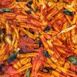 Casarecce alla siciliana in forno